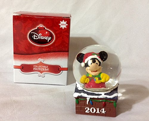 Disney Collectible Snowglobe Mickey Mouse 2014 (Mickey Mouse Snowglobe)
