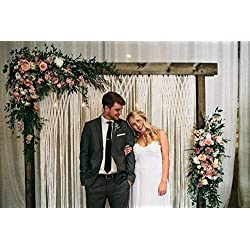 Bohemian Yarn Wedding Backdrop for Ceremony or Photography at Outdoor Events Photo Booth