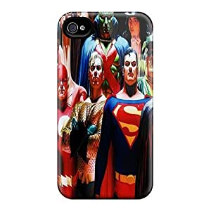 Brand New 4/4s Defender Case For Iphone (justice League)