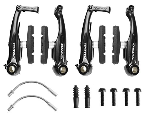 Tektro 930AL Mini V Brake Pull Front & Rear Brakes For BMX Cyclocross Road (Cyclocross Brake Levers)