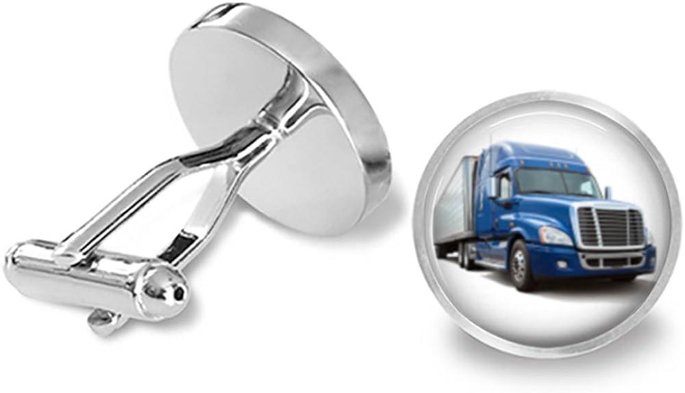 Big Rig Truck Driver Cufflinks