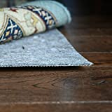 DURA-GRIP Non Slip Rug Pad Felt & Natural Rubber SAFE for all Floors - 1/8'' Thick (9x12 Feet - Rectangle)
