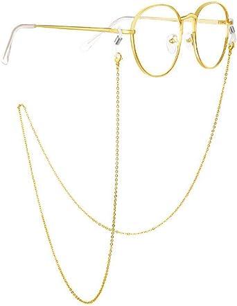 Stainless Steel Eyeglasses Lanyard Rope Chain Neck Strap Holder Retainer