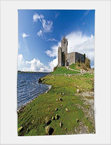 Minicoso Bath Towel dunguaire castle near kinvarra in co galway ireland 100942456 For Spa Beach Pool Bath