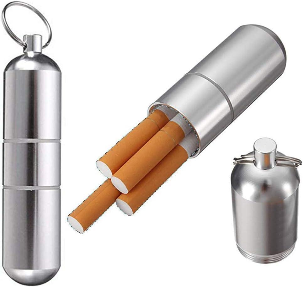 King Size Zigarettenetui Lasergravur Schwarz Aluminium Metall Schädel Mandala