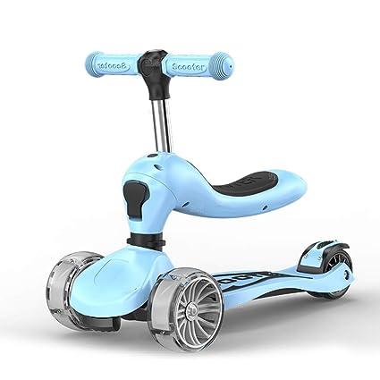 Patinete- Montar En/Scooter Plegable 3 En 1 Little 3 Wheel ...