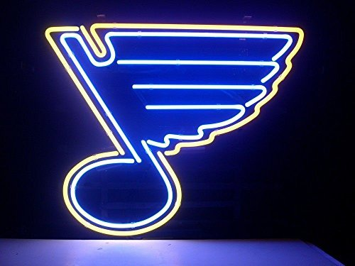 Weneon?Handcrafted St Louis Blues Hockey Beer Bar Pub Display Design Decorat...
