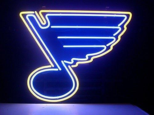 (Weneon?Handcrafted St Louis Blues Hockey Beer Bar Pub Display Design Decorat...)