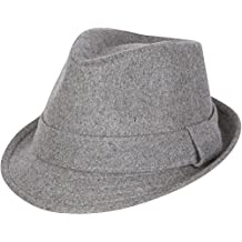 Sakkas Unisex Structured Wool Fedora Winter Hat