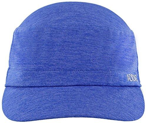 adidas Women's Sport2Street Adjustable Military Cap, Hi - Res Blue/Chalk Purple Heather/Aero Blue, One Size