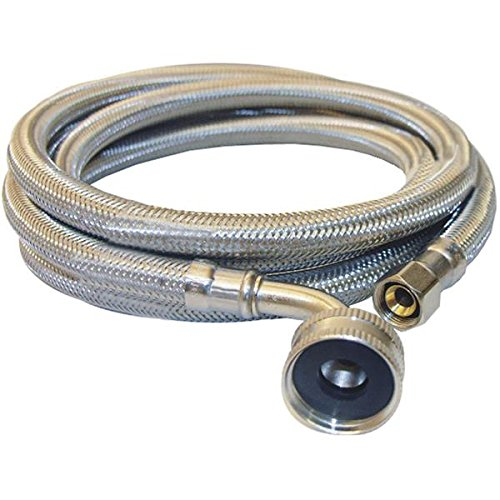 Lasco Stainless Steel Compression X Female Hose Thread Elbow Dishwasher Connector - 1 Each