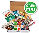KETO Box (Rare Items): Keto Snack Box, 3-5g Net Carbs, Low Carb Assorted Snacks, Gluten Free, Cello Whisps, Chomps, Epic Meat Strips, Chips, Cookies, and Cheese Bars, Low Carb Care Package