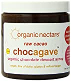 Organic Nectars Organic Raw Cacao, Chocagave, Organic Chocolate Dessert Syrup, 11-Ounce Jars (Pack of 3)