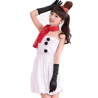 364cbe0a19522 Jomiss クリスマスの衣装 雪だるまの仮装 コスプレ用 活動の服装 かわいいクリスマス服4