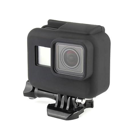 Amazon.com: soonsun suave silicona caso cubrir para GoPro ...