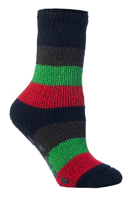 HEAT HOLDERS - 6 pares niño antideslizantes calcetines termicos gruesos para casa: Amazon.es: Ropa y accesorios