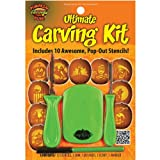 : The Ultimate Pumpkin Carving Kit with 10 Pop-Out Stencils
