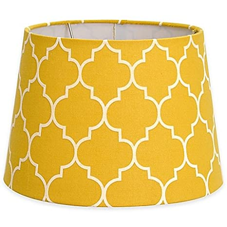 7 inch lamp shade bell lamp flocked linen small 7inch lamp shade yellowwhite 7inch
