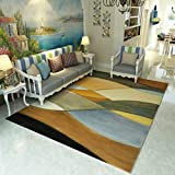 GIY Art Living Room Area Rugs Rectangular Colorful Carpets Children Crawling Bedroom Mats Home Decor Outdoor Indoor Runners 2' X 7'