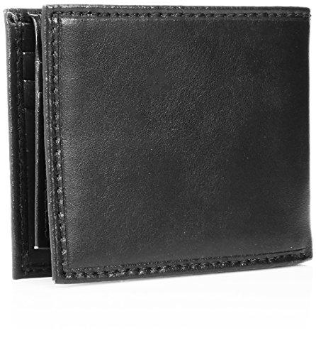 Tommy Hilfiger Leather Men's Multi-Card Passcase Bifold Wallet