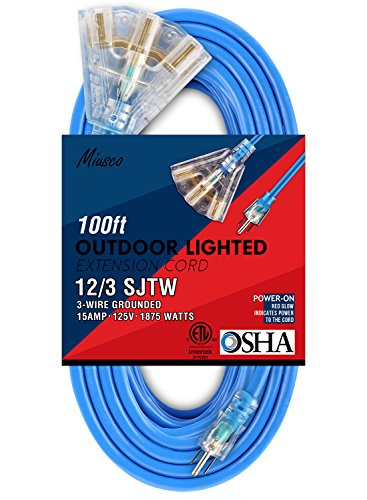 30 amp extension cord 100 ft - 8