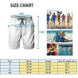 MOONLIT DECAYED Men's 3D Graphic Print Summer Surfing Beach Board Shorts Swimwear with Pocket