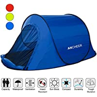ANCHEER Pop Up Tent, Waterproof Automatic Instant Tent,...