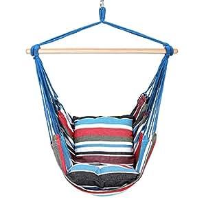 Blissun Hammock Chair, Hanging Chair, Swing Chair (Cool Breeze)