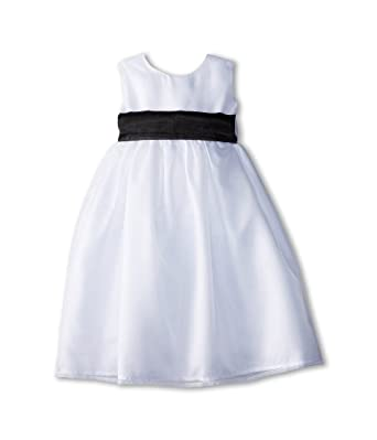 6c499f8492a05 Us Angels Baby Girl s Sleeveless Organza Dress (Toddler) Black 1 Dress 3T  (Toddler
