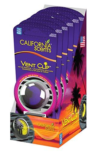 Unit Clip (California Scents Vent Clip 6-Unit Tray, Verri Berry (Pack of 6))