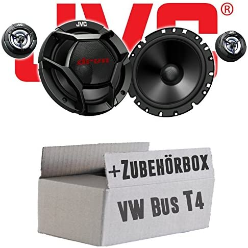 Jvc Cs Dr1700c 16cm 2 Wege Lautsprecher System Einbauset Für Vw Bus T4 Front Just Sound Best Choice For Caraudio Navigation