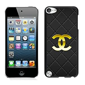 For iPod Touch 5,Chanel 50 Black iPod Touch 5 Case Online