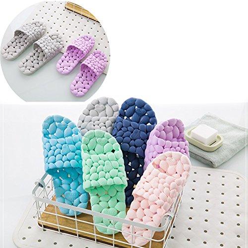 Foam Red Slip Bathroom Household WYSBAOSHU Spa Rose Shower Sandal Massage Slipper Non q4EEHT