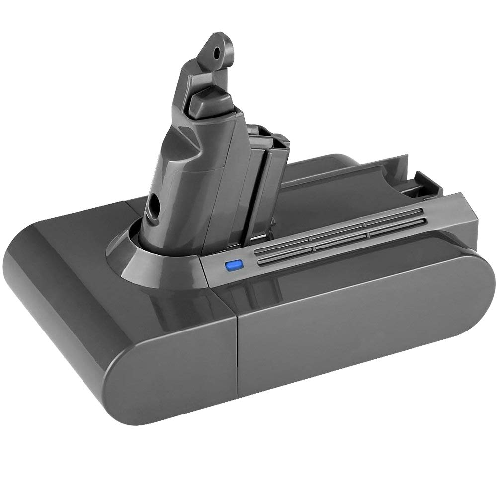 21.6V 2600mAh Lithium-ion Replace for Dyson V6 Battery DC58 DC59 DC61 DC62 595 650 770 880 Animal DC72 Series Handheld Vacuum