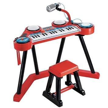 ROOM STUDIO - 143623 - Teclado Musical Star para niños: Amazon.es: Juguetes y juegos