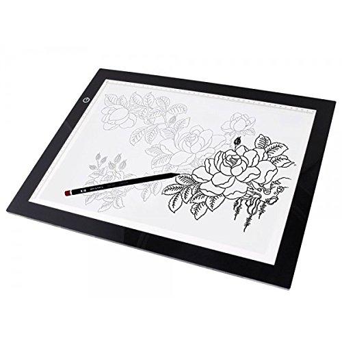 "19"" LED Artist Stencil Board Tattoo Drawing Tracing Table D"