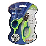 Zen Clipper Pet Nail Trimmers for Dogs Between 25-50 lbs - the Worry-Free Nail Scissors- Unique Blade Clips the Tip Not the Quick - Stress/Injury-Free Nail Cutting and Grooming - 4mm