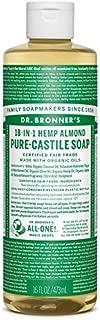 product image for Dr Bronner Castile Soap Organic Almond 16 oz (Multi-Pack)