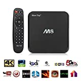 Atoah M8 Media Player Quad Core Android 4.4 Smart Set Top Tv Box Xbmc 3d Blu-ray 4k Streaming Media Player S802 Aml8726-m8 2ghz 2gb Ram 8gb Rom Mali450 GPU 4k Hdmi 2.4g/5g Dual Wifi Ultra Hd Mini Pc