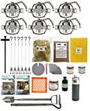 PcsOutdoors Deluxe Coyote Trapping Starter Kit (24 Pieces) USA Made Kit
