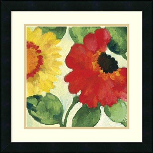 Amanti Art Framed Home Wall Art Prints | Anemone Garden III by Kim Parker | Modern Contemporary, Casual, Classic Decor, 18