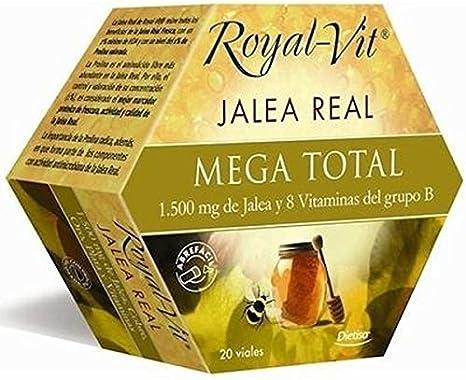 Royal-Vit Jalea Real Mega Total de 20 Viales de 10 ml de Dietisa ...