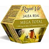 Royal-Vit Jalea Real Mega Total de 20 Viales de 10 ml de Dietisa -