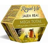 Royal-Vit Jalea Real Mega Total de 20 Viales de 10 ml de Dietisa -