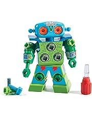 Educational Insights Design y Drill Robot: Introducción a STEM para Niños en Edad Preescolar, Grandes Regalos para Niños y Niñas Mayores de 3 Años