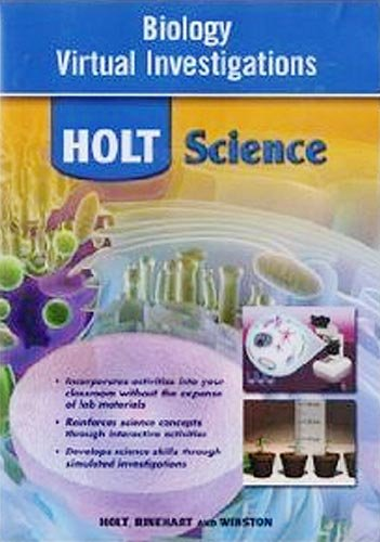 Holt McDougal Biology: Virtual Investigations CD-ROM