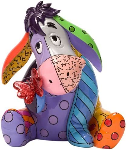 Imagen deEnesco Disney - Figurilla de Eeyore, de Resina, Altura de 18 cm, Multicolor