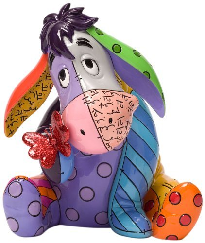 Disney by Britto Eeyore Stone Resin Figurine (Walt Disney Eeyore)