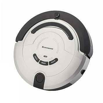 Hogar Robot Aspirador- con Base De Carga Y Pared Virtual, Fregona Seca/Mojada Dos En Una, Apto para Todo Tipo De Limpieza De Suelos, Plata: Amazon.es: Hogar