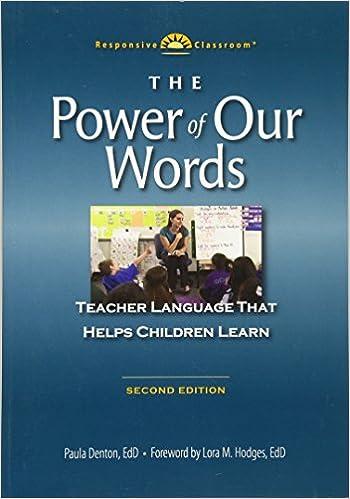 Amazon the power of our words teacher language that helps amazon the power of our words teacher language that helps children learn 9781892989598 paula denton lynn bechtel books fandeluxe Choice Image